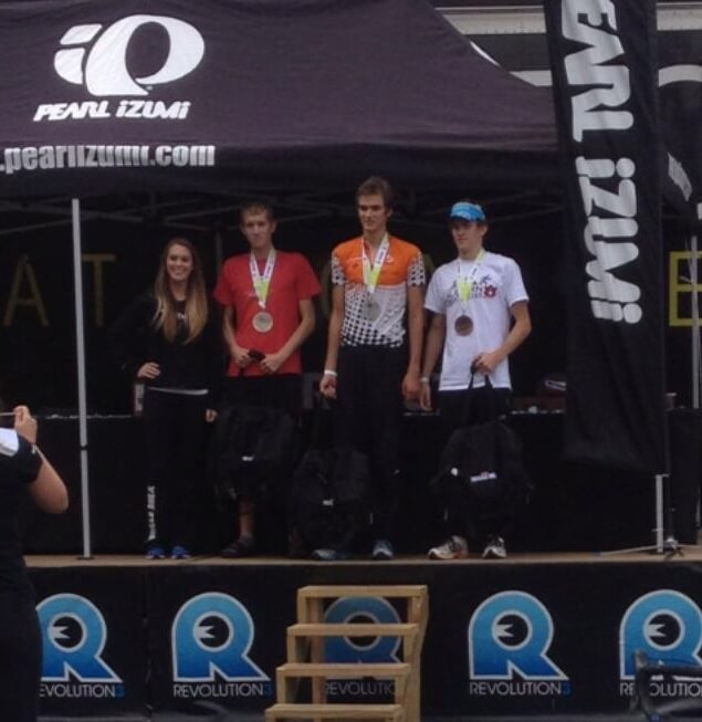 Collegiate Podium Rev3 Anderson SC 2012