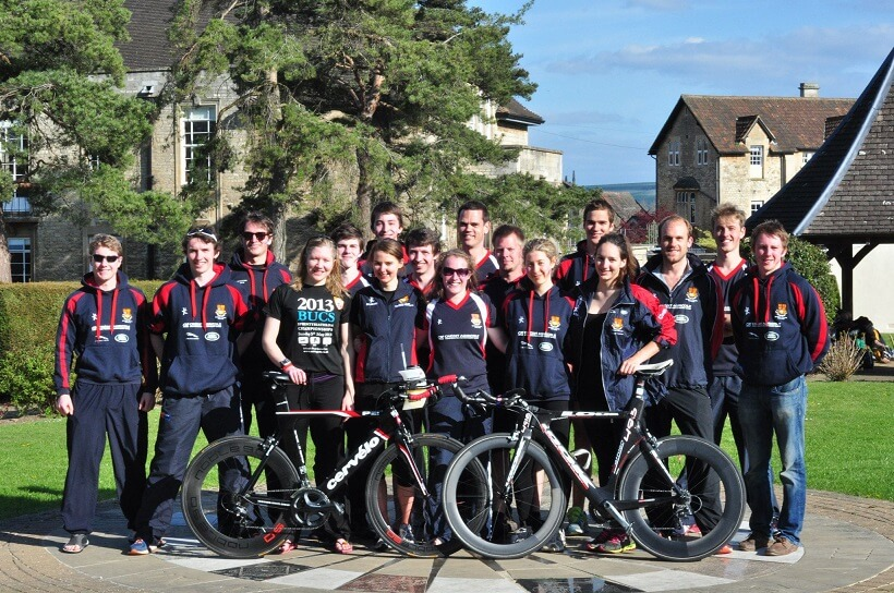 Imperial College Triathlon Team at BUCS Sprint triathlon