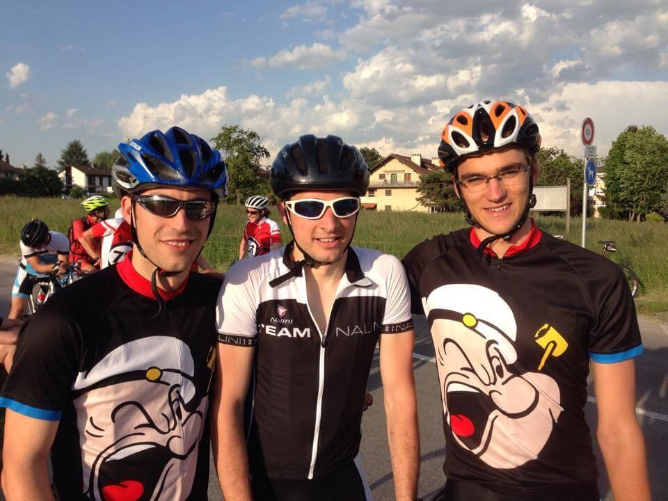TDFO 2015 - équipe Popeye au prologue