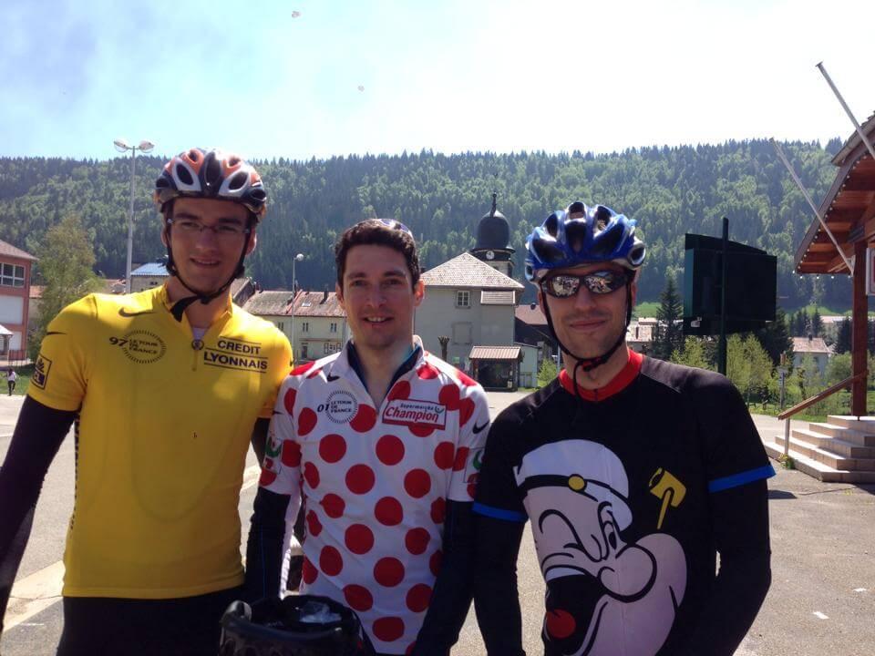 TDFO 2015 - équipe Popeye à Bois d'Amont
