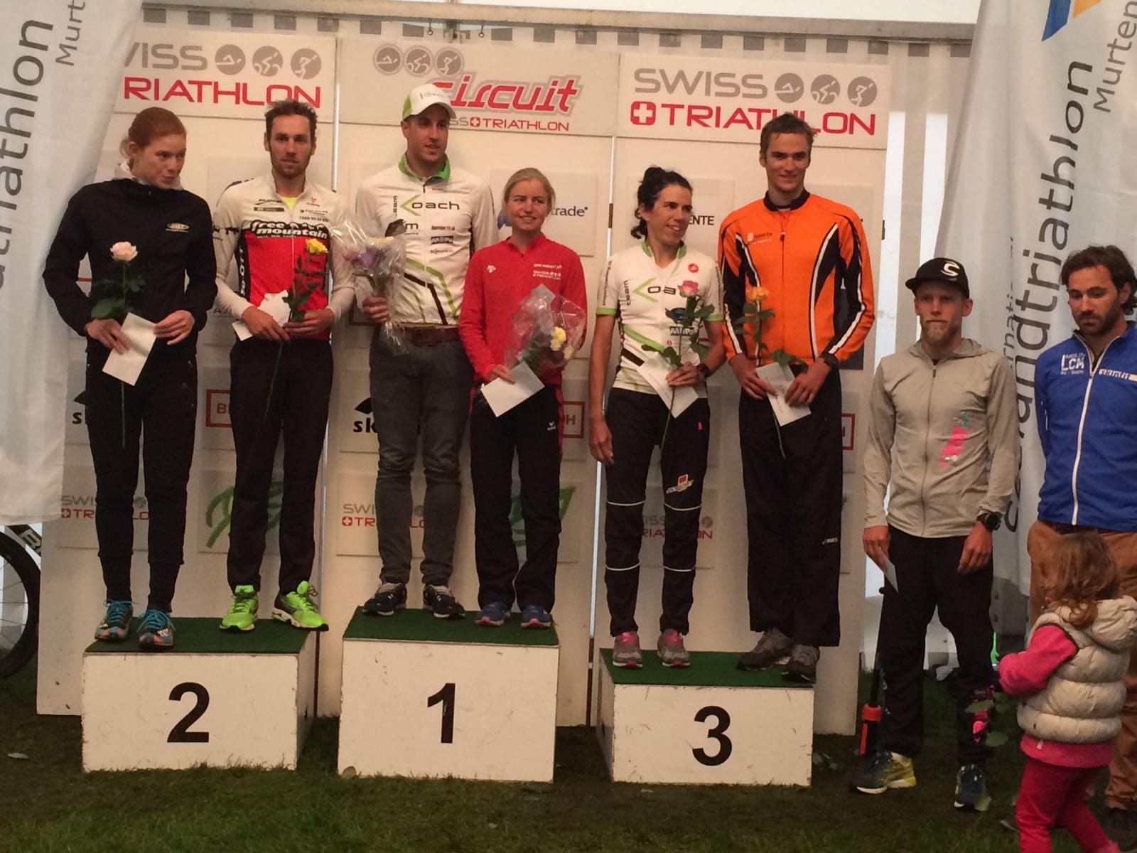 2016 Seelandtriathlon podium