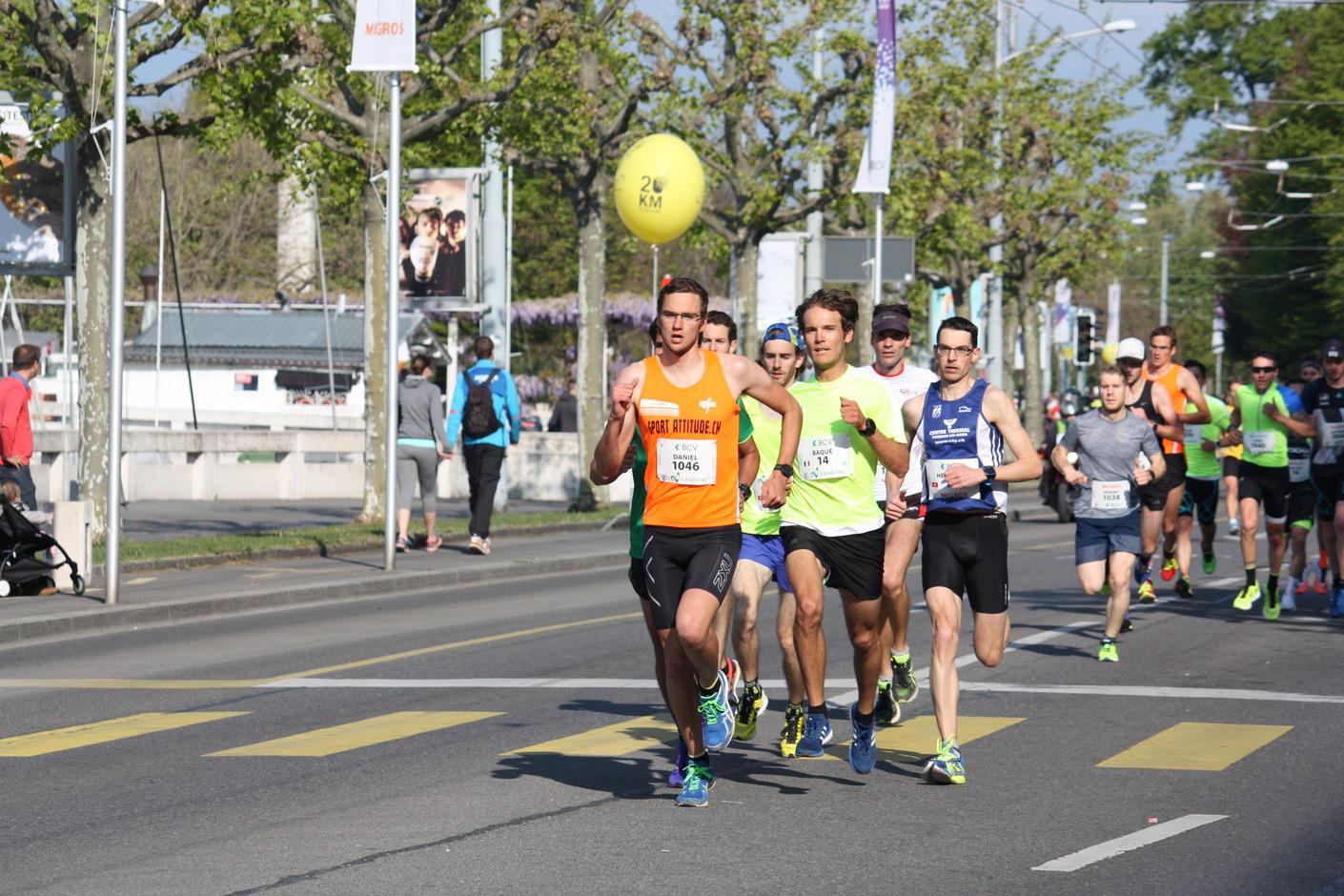 20km Lausanne 2017: Start