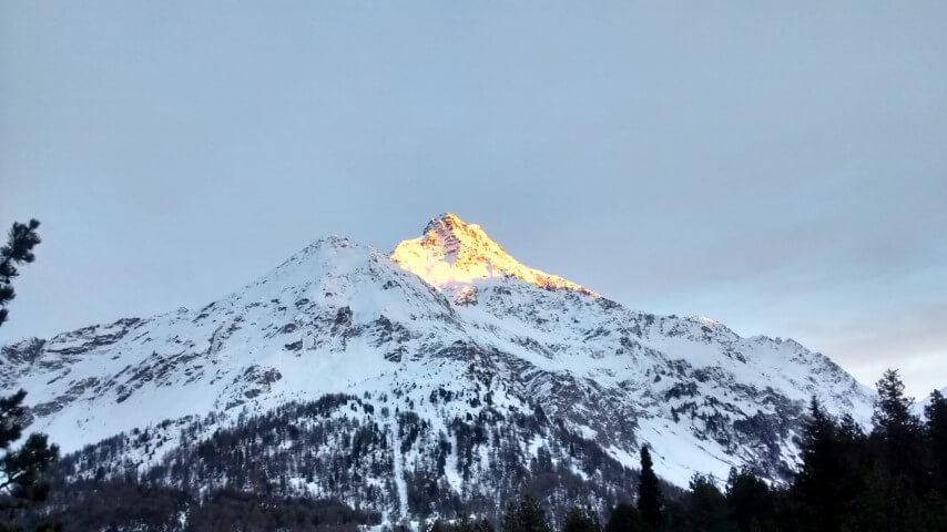 Engadin 2014. Montagne.