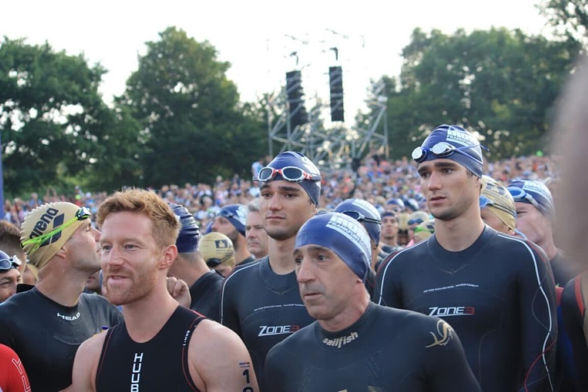 Frankfurt Swim Start
