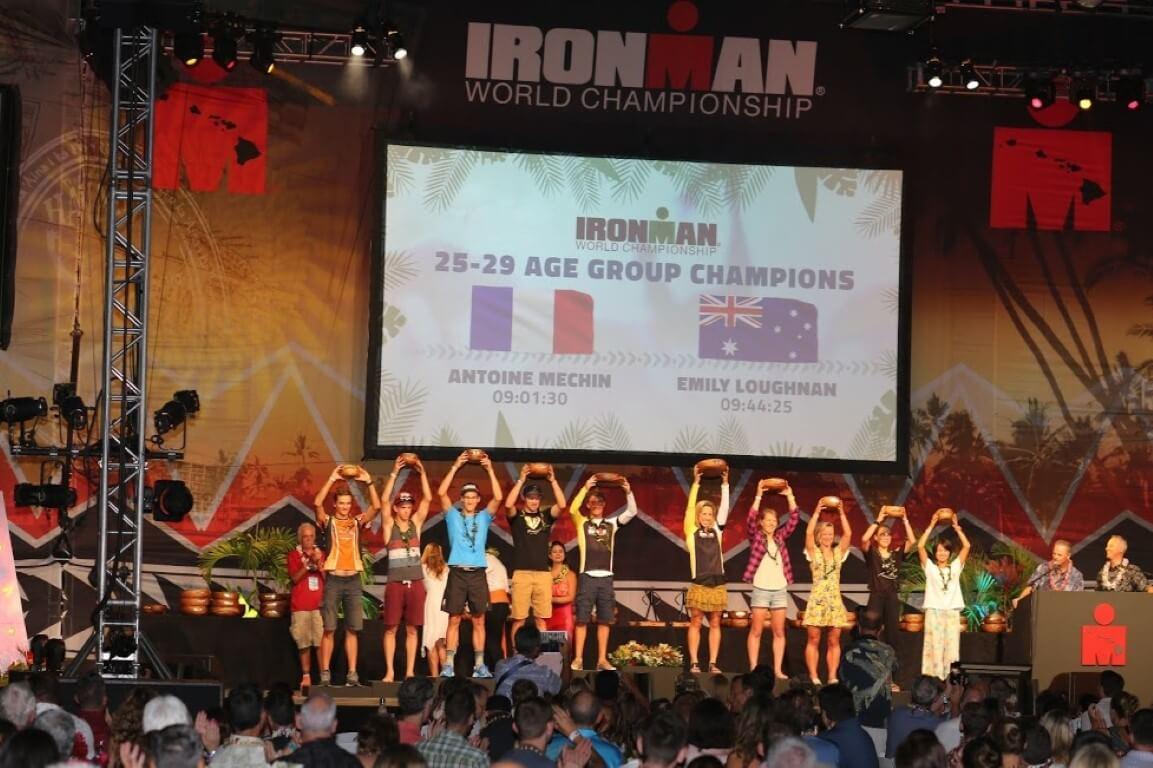 Kona 2017: podium 25-29