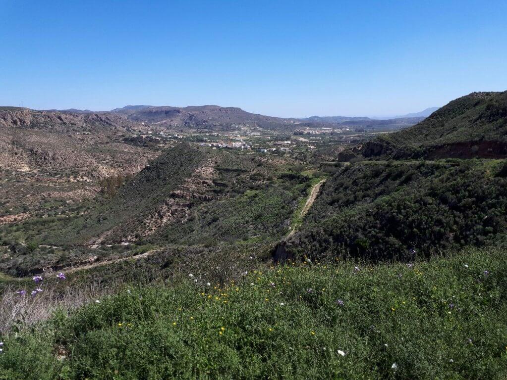 Mojacar 2017: Paysage depuis Mojacar
