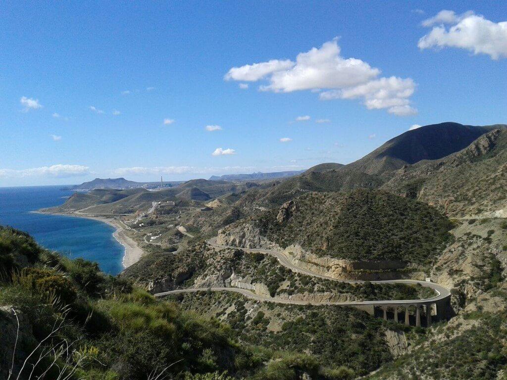 Mojacar 2017: Route pour Carboneras