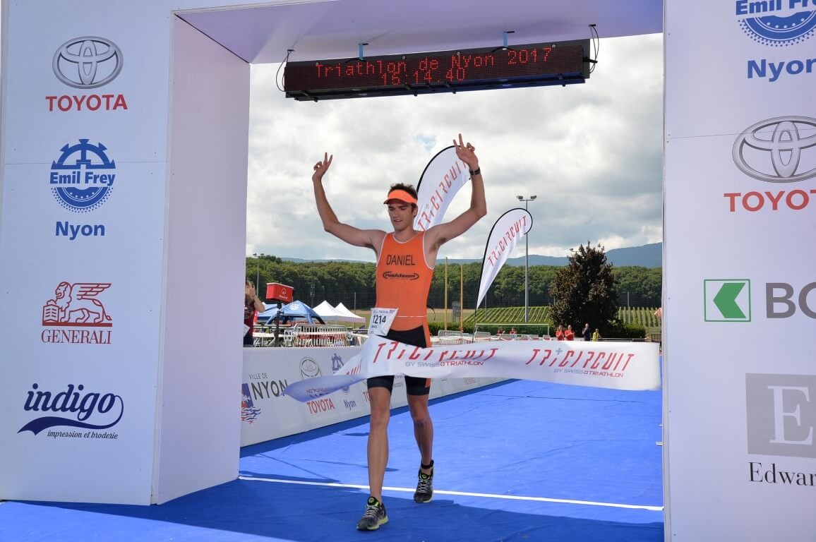 Tri Nyon 2017, finish