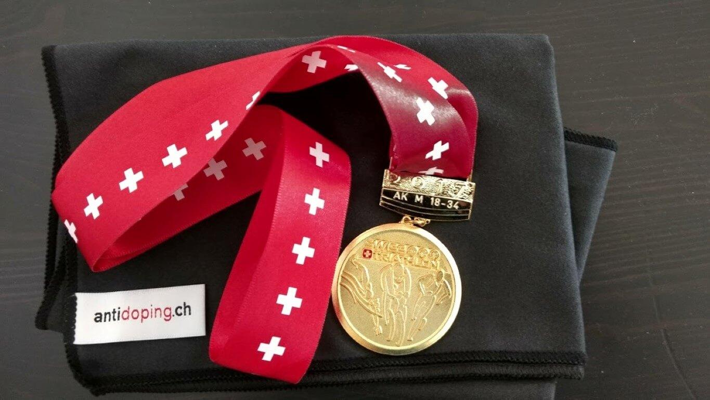 Médaille champion suisse 2017