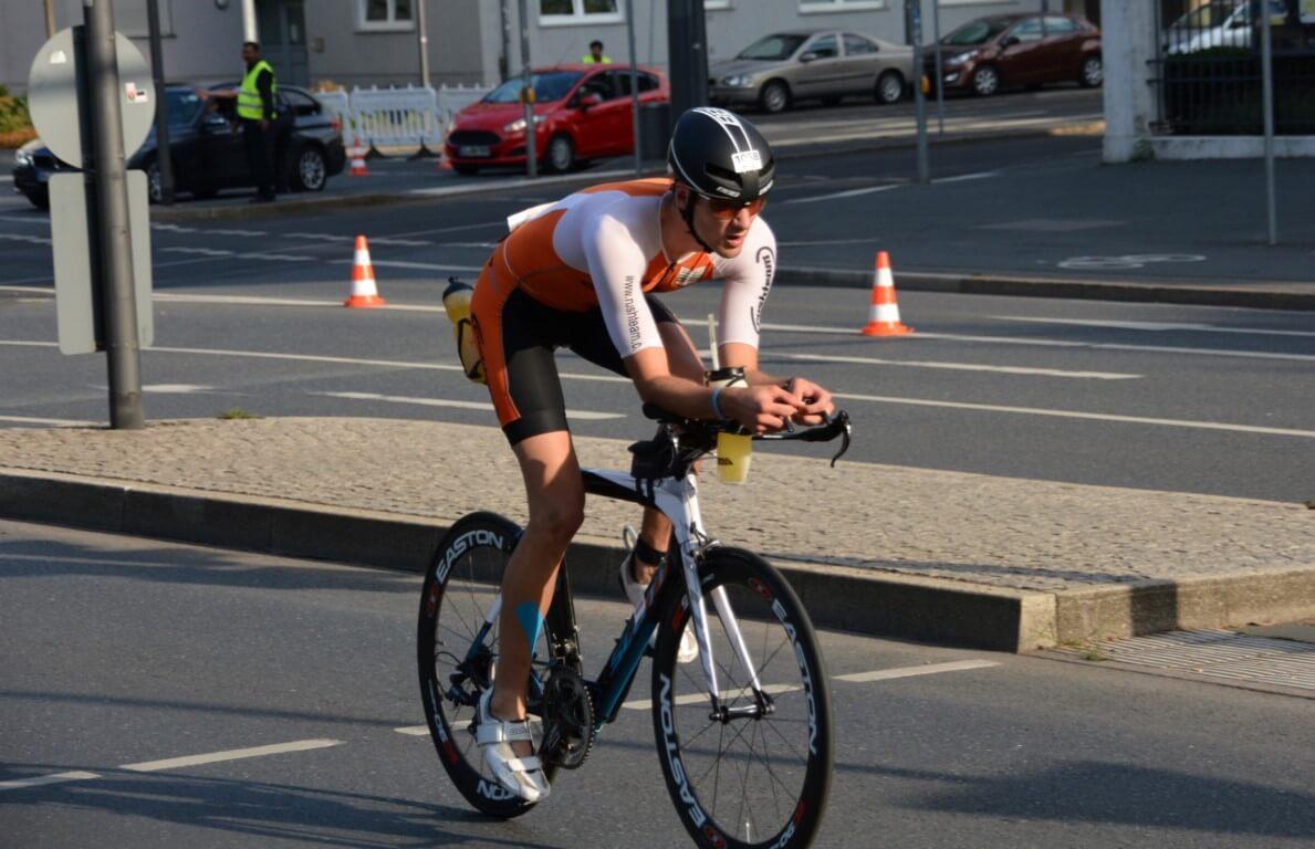 Jean-Claude à vélo