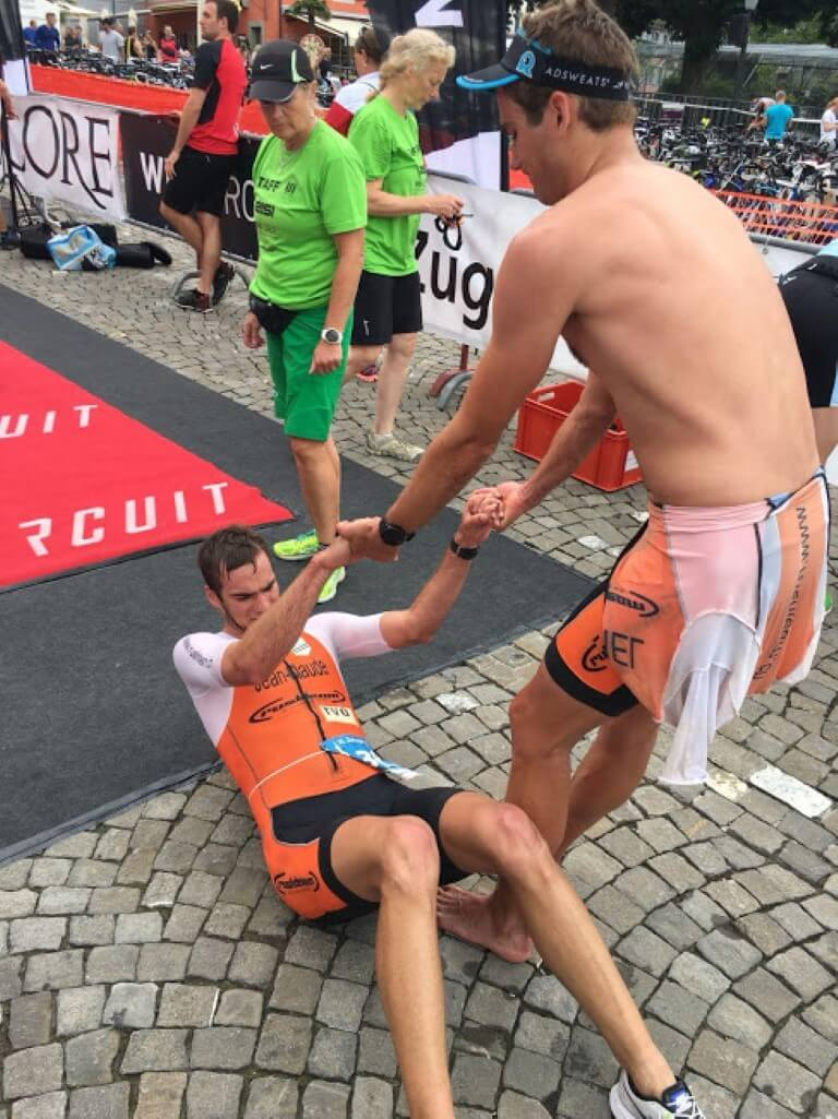 2018 Zug post-finish